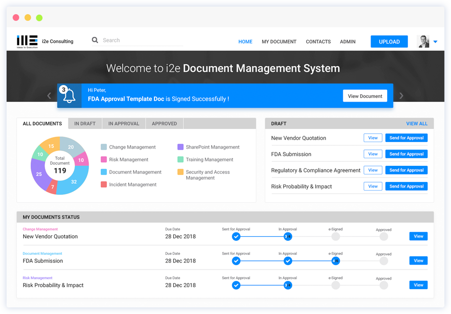 Document Management System App